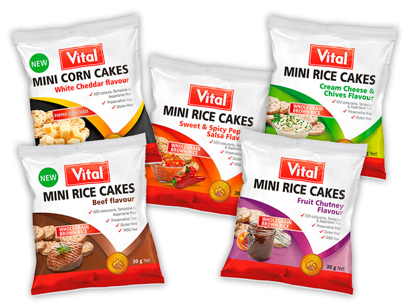 Mini Corn Cakes